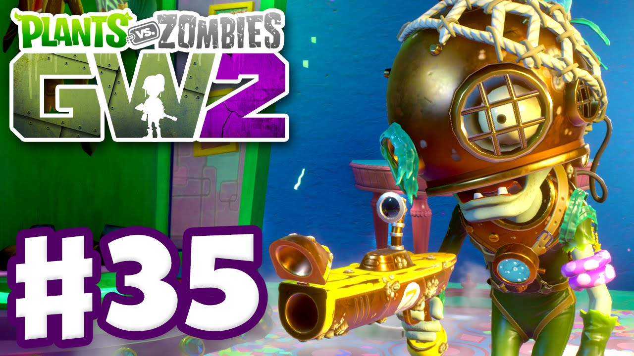 Plants Vs Zombies Garden Warfare 2 Gameplay Part 35 Scuba Soldier Pc Youtube