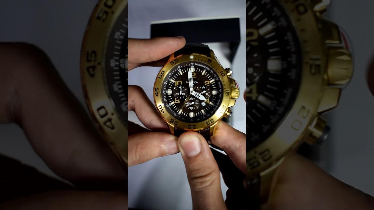 8c290a0f9120 Reloj Nautica N18522G para hombre - Relojes W - YouTube