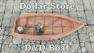 Dollar Store Challenge - Crafting a D&D Boat
