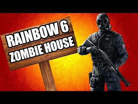 RAINBOW SIX SIEGE HOUSE OF ZOMBIES (Call of Duty Zombies) thumbnail