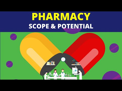 Scope of pharmacy and admssion procedure