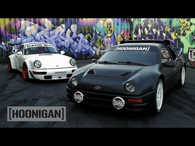 [HOONIGAN] DT 161: Ken Block's Dream Car – 1986 Ford RS200