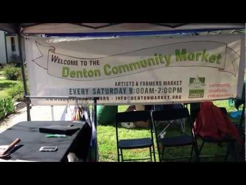 Denton Community Market (Opening Day) - Feed Denton