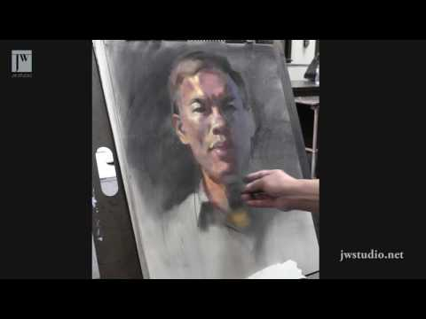 How to draw portrait _ James Wu