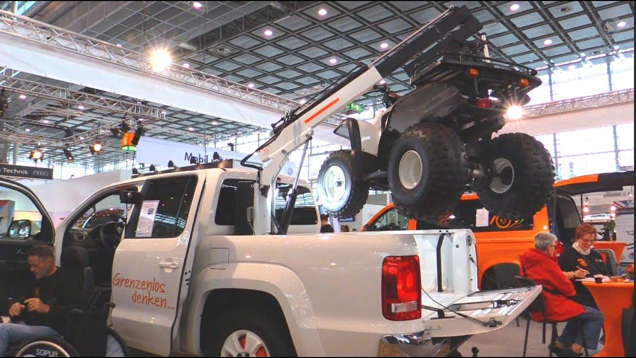 Vw Amarok Kran Quad Pickup Rollstuhl Fahrzeugumbauten