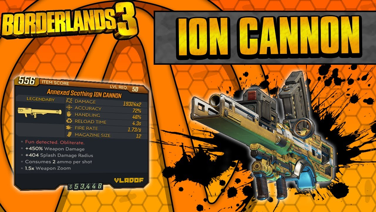 Borderlands 3 How To Get The Ion Cannon Legendary Weapon In