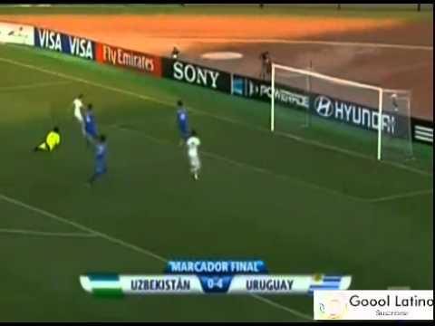 Uruguay vs Uzbekistan 4-0 - Mundial Sub 20 - 29/Junio/2013 - Todos los Goles