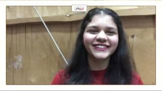 حفيدة أم كلثوم: 'مشجعيني هم سري تفوقي في الحياة' (فيديو)