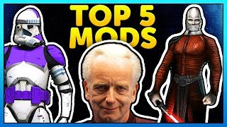TOP 5 MODS OF THE WEEK of Star Wars Battlefront 2 Episode 49. This ...
