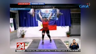 Download lagu 24 Oras: Vanessa Sarno, wagi ng 3 gintong medalya sa Int'l Weightlifting Federation Online Youth...