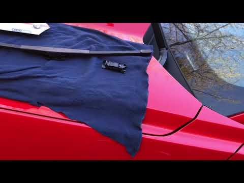 How to change your windshield wiper blades on 15-17 Mustang