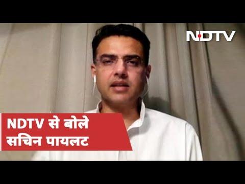 Sachin Pilot To NDTV: BJP के साथ दिखाना छवि खराब करने की कोशिश | Rajasthan News