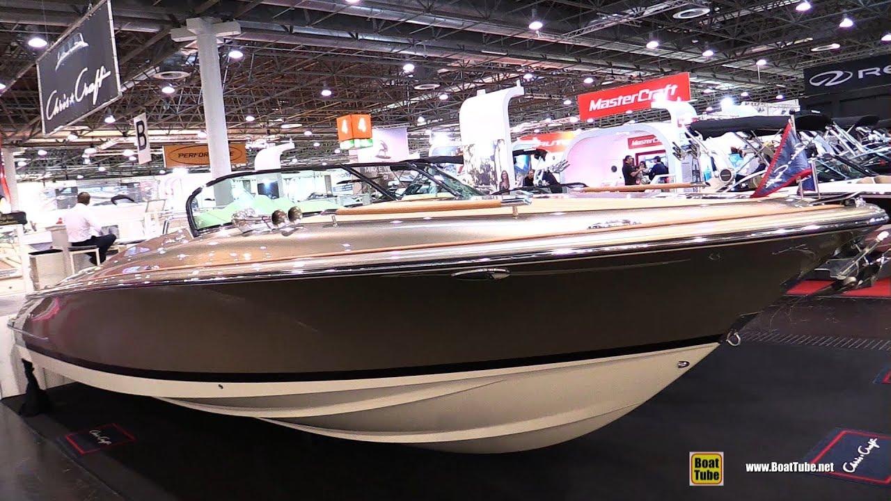 2018 Chris Craft Corsair 30 Motor Boat - Walkaround - 2018 Boot Dusseldorf  Boat Show