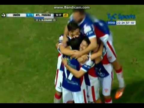 Unión de Santa Fe vs Atlético Paraná (1-1) Pen. 4-3 Copa Argentina 2016 32vos de Final - Santa Fe