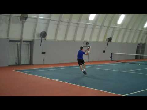 Andrew MacDonald College Tennis Recruiting Video (Transfer Fall 2017)