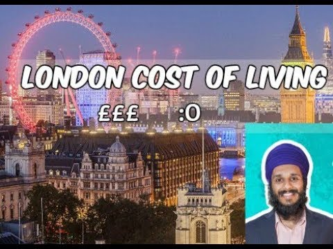 London Cost Of Living 2017