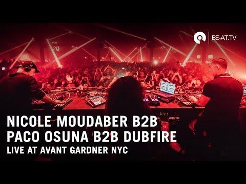 Nicole Moudaber b3b Dubfire b3b Paco Osuna @ MoodRAW   Outpost NYC (BE-AT.TV)