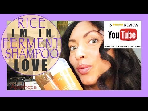 💖BEST RICE FERMENT🌾SHAMPOO EVER!!! Review🐉