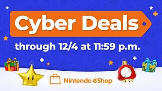 Cyber Sales On The Nintendo Eshop Now Live! - Just A Drop: Episode 1