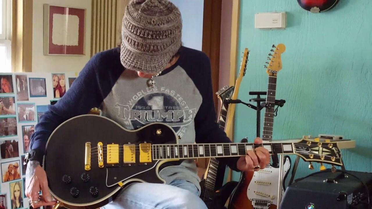 1989 Gibson Les Paul Custom LPC - 3 3 pickup Black Beauty demo k. K ...
