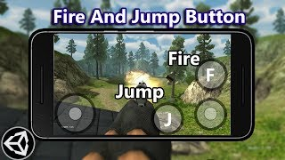 fps shooter adding fire and jump button (Android,ios)