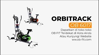 Orbitrak Multifungsi Stainless Colourful OB-6017 by OB Fit