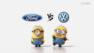 FORD vs VW Minions Style ( Funny )