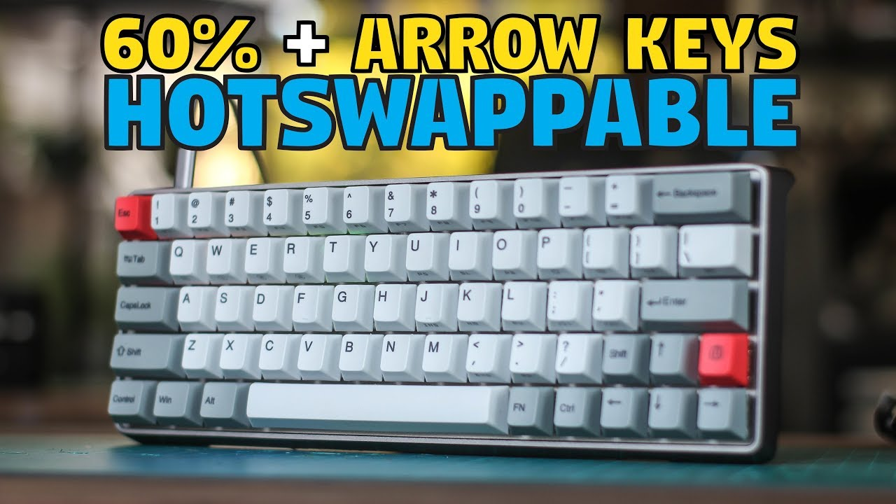 4bc8764b227 GK64 (Sewino) Hotswappable Mechanical Keyboard - Unboxing & Review ...