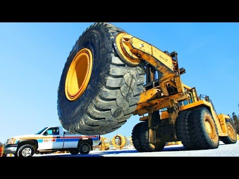Replacement of $6000 Extreme Tires on BIG Truck - Repair and Replacement Service by Profil Plus