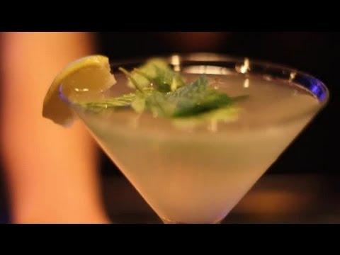How to Make a Mojito Martini : Gourmet Cocktails & Dessert Martinis