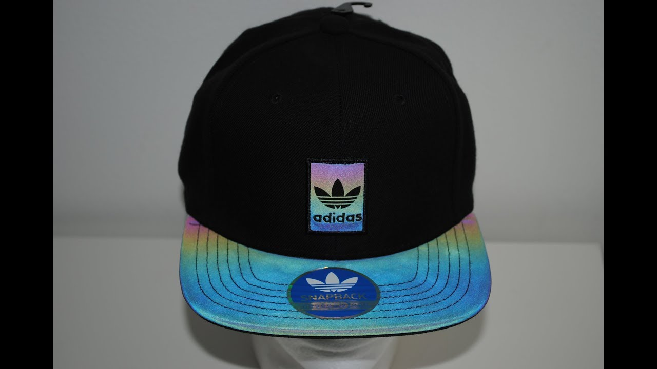 6375a6bb91d ... coupon adidas originals xeno brim iridescent snap back cap product  presentation by crime clothing 5a560 835e0