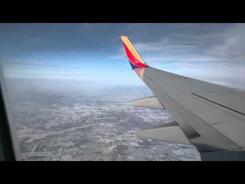 Take off from Flint, Michigan to Orlando, Florida.