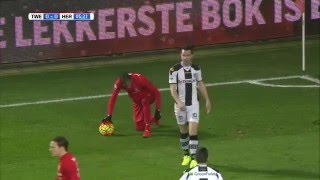 FC Twente - Heracles Almelo 4-0 | 15-01-2016 | Samenvatting
