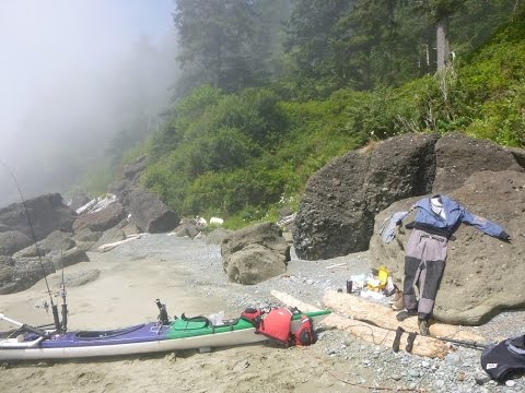 Kayak Camping Pacific
