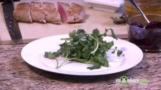 Stevia Ahi Tuna & Watercress Salad With Ginger Vinaigrette