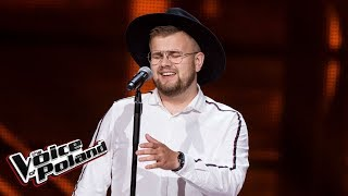 "Maciej Mazur - ""Sign of the Times"" - Przesłuchania w ciemno - The Voice of Poland 9"