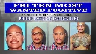 CWEB.com -FBI Most Wanted Fugitive Philip Policarpio that Killed Girlfriend, Unborn Child Captured