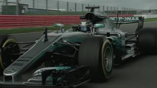 f1 2017 mercedes w08 launch and on track at silverstone