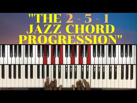 The number system: 2 5 1 Chord Progression used in most jazz standards (2020) | Lesson #20