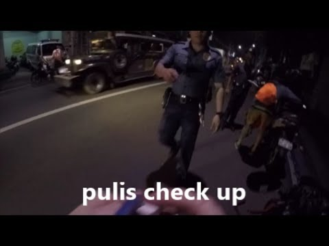 MY EXPERIENCE OF A POLICE CONTROL IN MANILA
