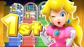 Mario Party 9 - Peach Wins By Doing Absolutely Nothing