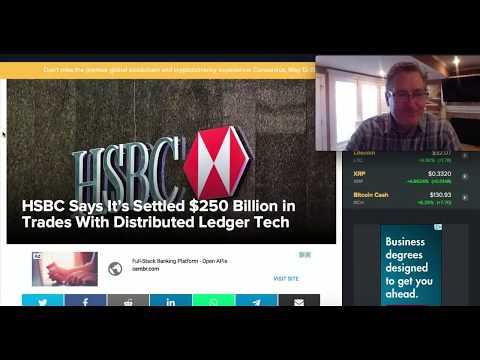 HSBC Settled $250 Billion in Trades Using DLT