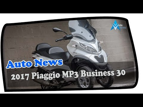 WOW AMAZING !!! 2017 Piaggio MP3 Business 30 Price & Spec