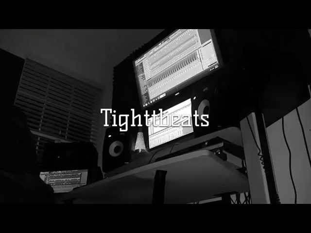 Tight T Beats In The Lab Working On A Beat