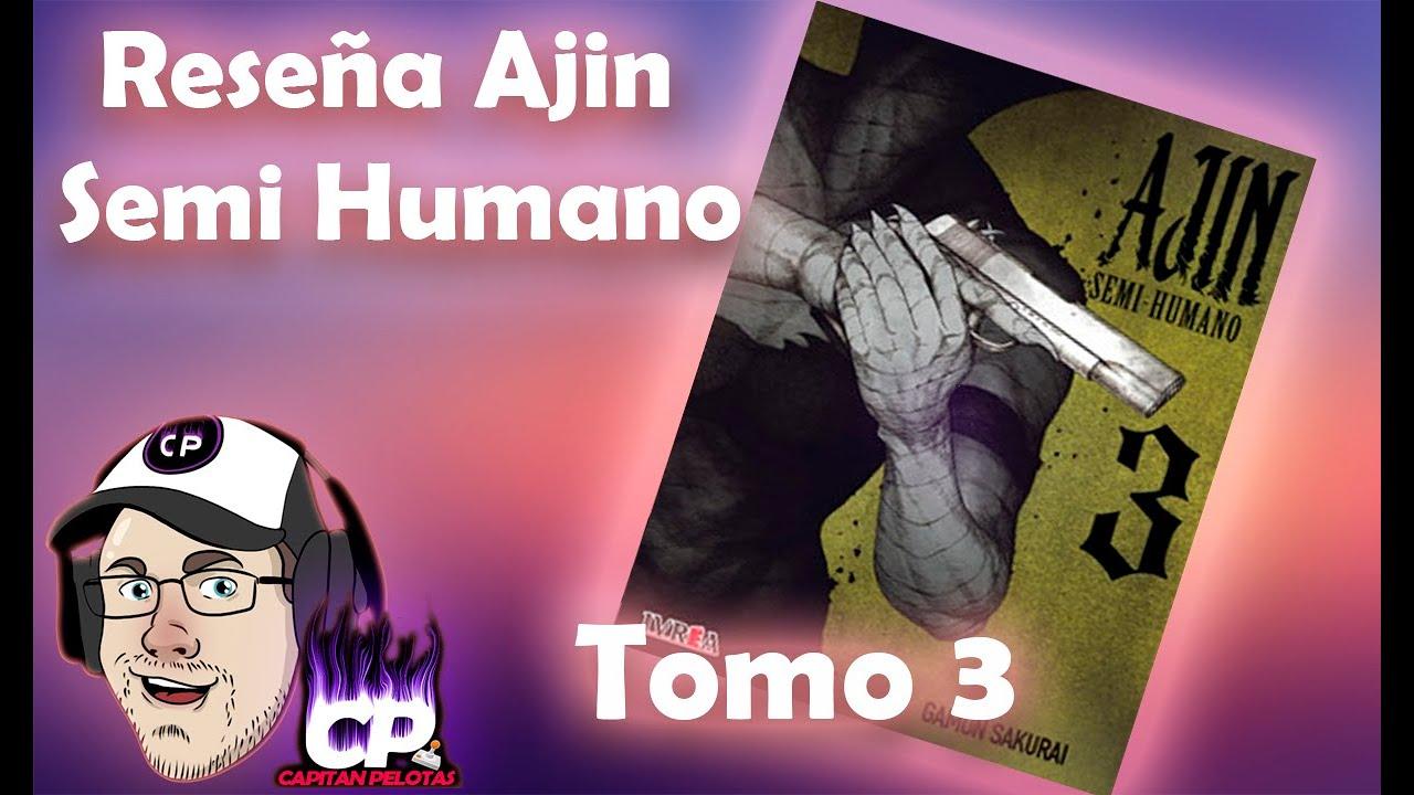 Reseña Ajin Semi Humano - Tomo #3