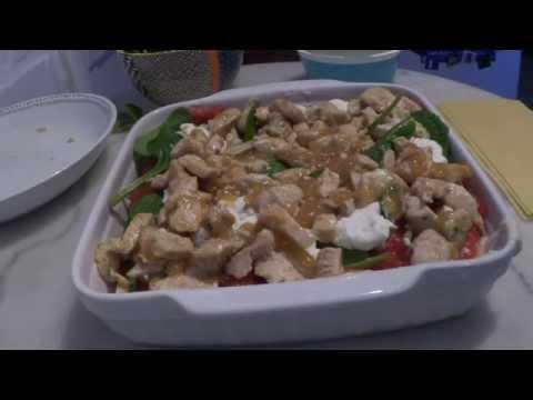 [recette#2]-lasagnes-au-poulet,-ricotta,-épinards