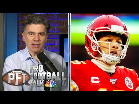 Chiefs' Patrick Mahomes should be motivated by NFL Top 100 spot | Pro Football Talk | NBC Sports