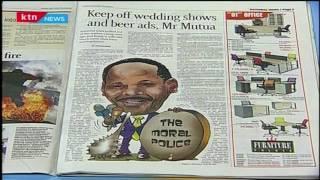 """Ezekiel Mutua's unending """"theatrics"""" over wedding shows and beer"""