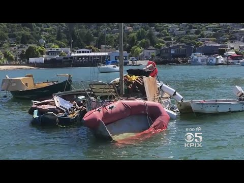 Sausalito Makes Changes To Discourage Abandoned Boats From