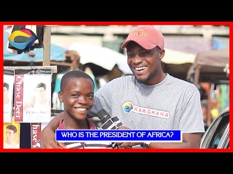 Who is the PRESIDENT OF AFRICA? | Street Quiz | Funny Videos | Funny African Videos | African Comedy thumbnail